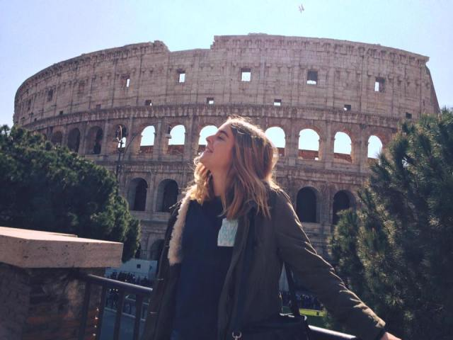 Happiness in Rome