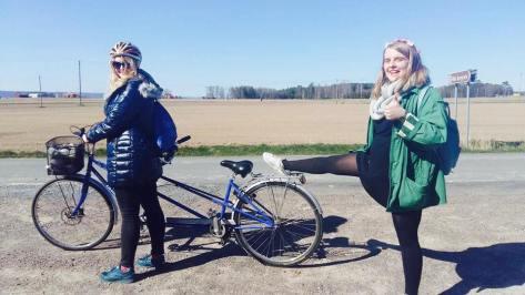 Biking trip in Vattern